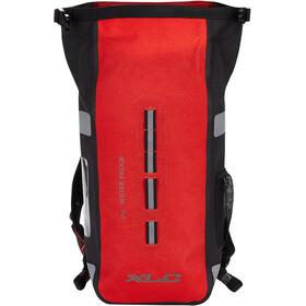 XLC Commuter Rugzak Waterdicht, rood/zwart
